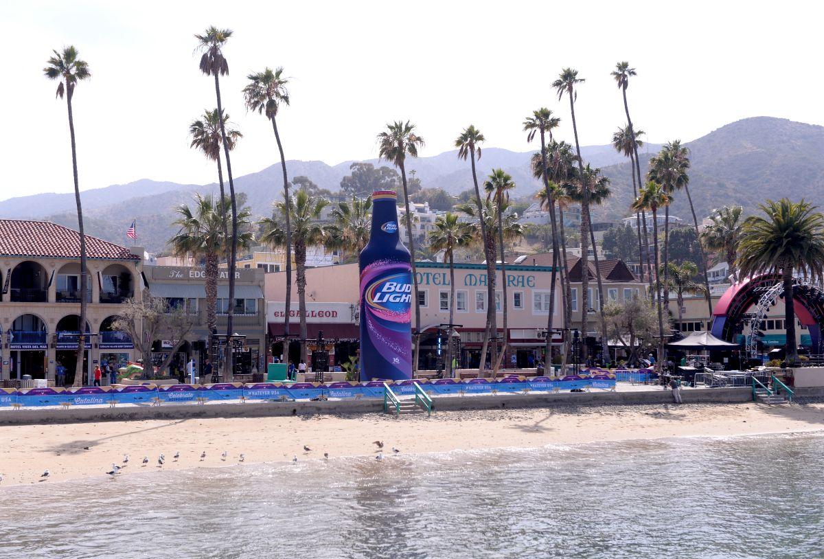 El incidente ocurrió en la Isla Catalina, a pocas millas de Los Ángeles.