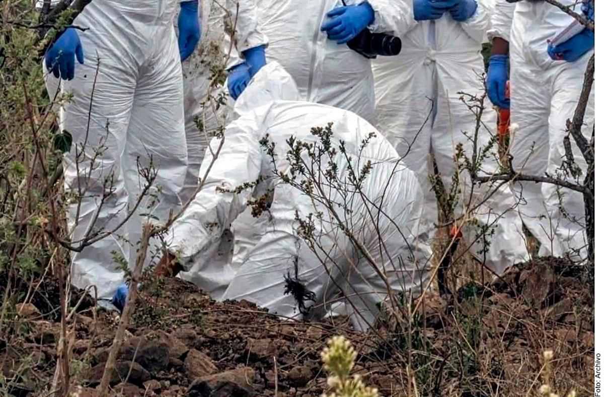 Hay 38,000 cuerpos sin reconocer y miles de desaparecidos más en tiempos de la 4T