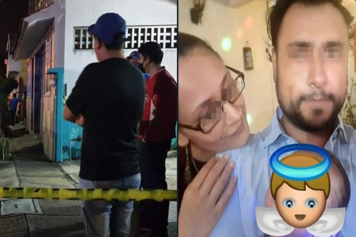 Hallan calcinada a familia; padre habría matado a esposa y bebé para luego suicidarse