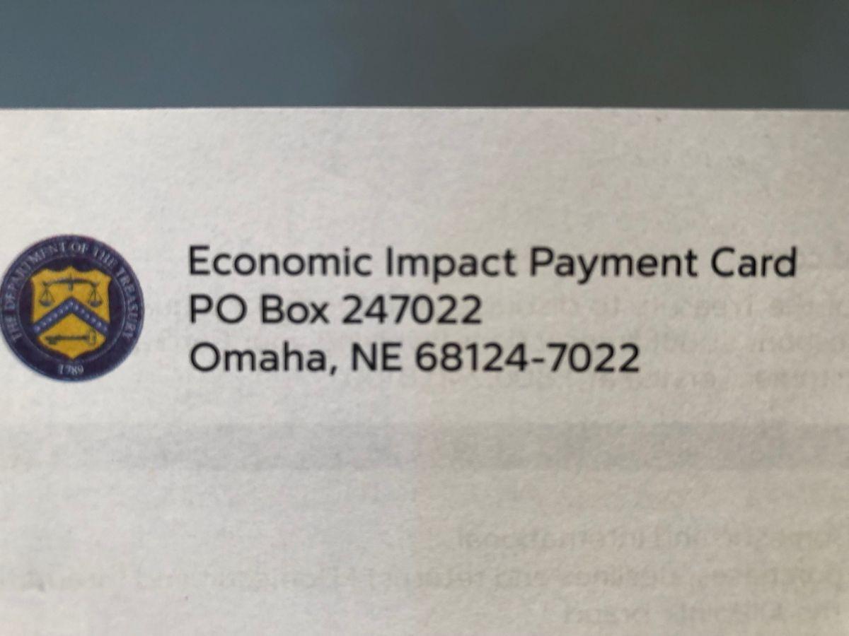 Recibí el cheque de estímulo, pero casi se fue a la basura por culpa de un sobre que no parece oficial