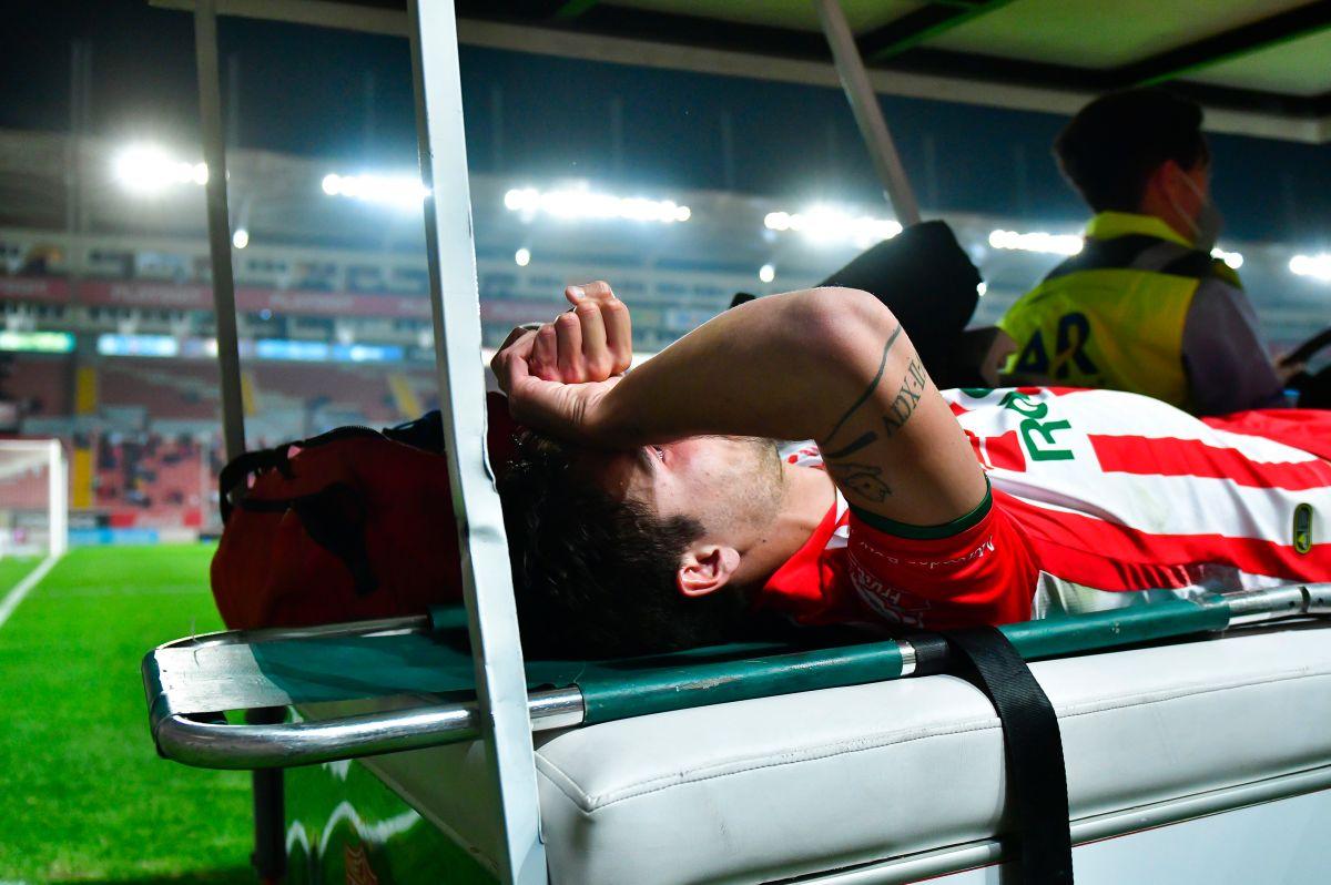Unaí Bilbao manda mensaje esperanzador tras terrible lesión en la rodilla