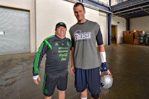 """""""Ese chamaco me pidió la foto"""": El """"Piojo"""" Herrera recordó cuando conoció a Tom Brady"""