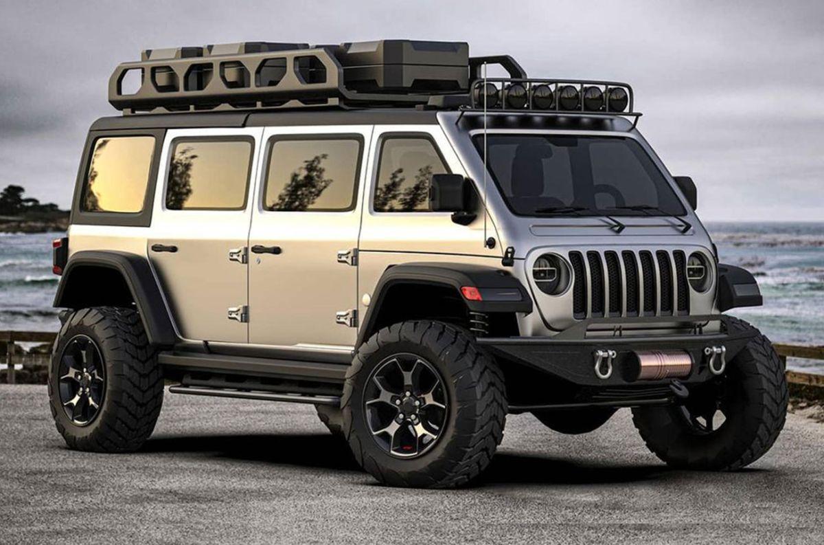 Descubre la minivan basada en el Jeep Wrangler