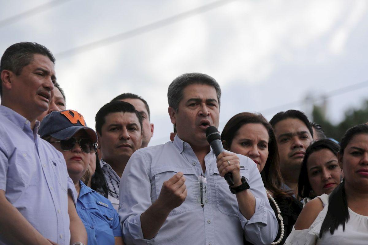 EEUU acusa a presidente de Honduras de facilitar actividades de narcotráfico