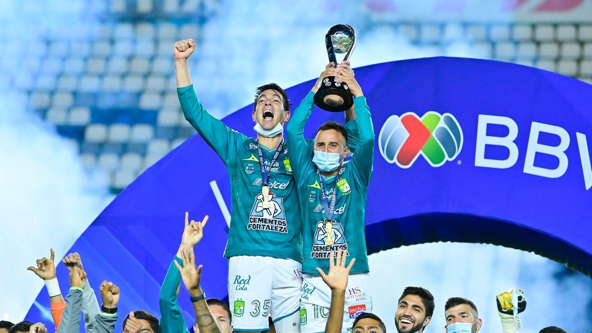 Nuevos contagios de COVID-19 en el actual campeón León.
