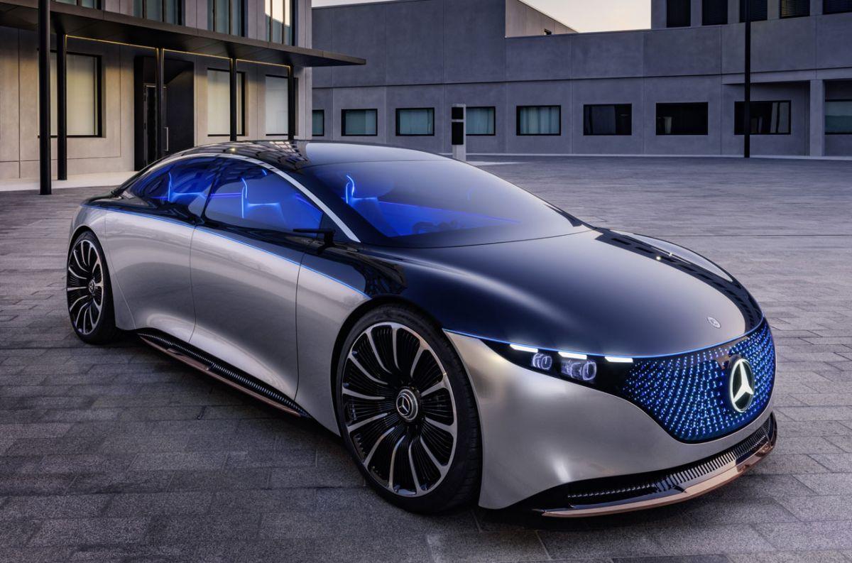 El Mercedes-Benz EQS y su increíble pantalla de 56 pulgadas