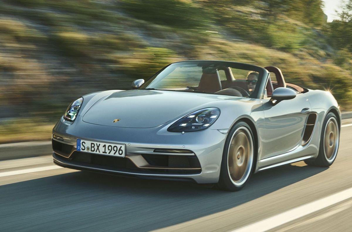 El Porsche Boxster cumple 25 años y lo celebra con una edición especial