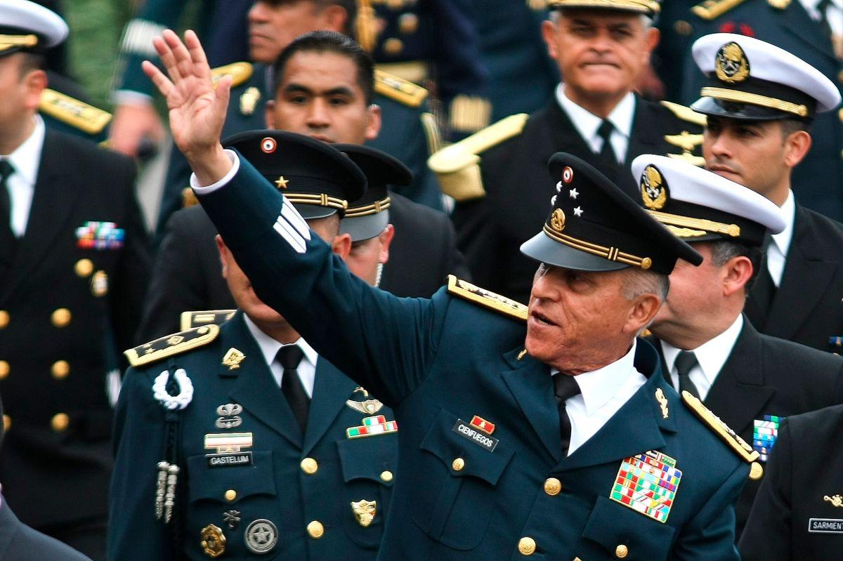 """Departamento de Justicia expresó su """"profunda decepción"""" por caso Cienfuegos en México"""