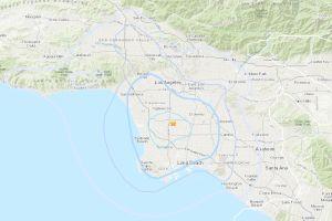 Los Ángeles despierta con un sismo de 3.5 grados en la escala de Richter