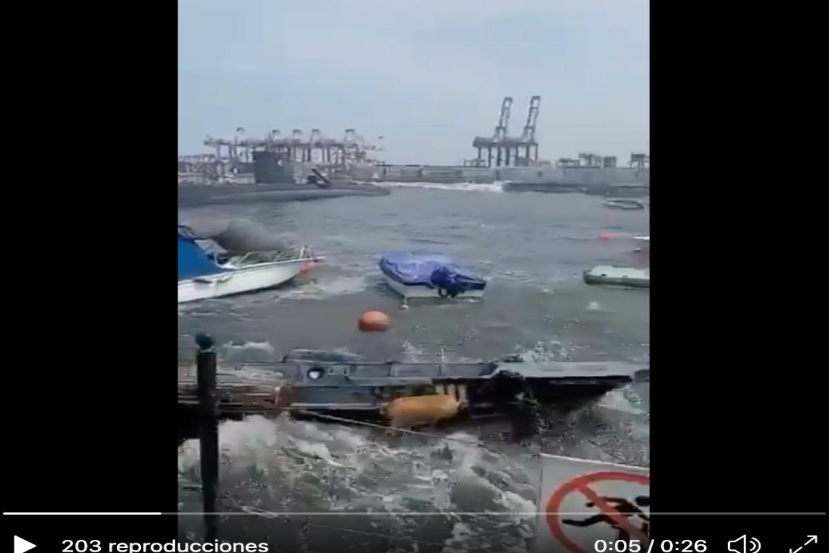 VIDEO: 2 temblores golpean a Chile en 30 minutos; evacuaron costas por riesgo de tsunami