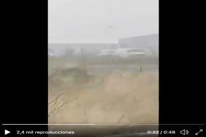 VIDEO: Automovilista captó lugar donde hallaron los cuerpos de 19 sicarios en la frontera