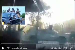 VIDEO: Balacera y persecución de sicarios Cártel del Noreste cerca de la frontera