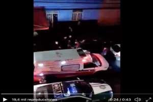 VIDEO: Matan al Robert, presunto narco de la Unión Tepito; así se lo llevaron al hospital