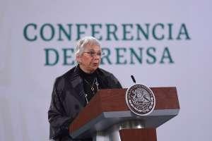 AMLO se encuentra bien, fuerte y en pleno ejercicio de sus funciones, afirma Olga Sánchez Cordero, Secretaria de Gobernación