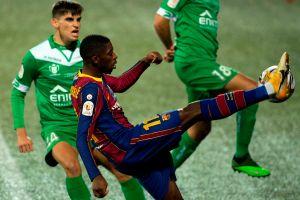 El Cornellá lo puso contra la pared: el Barcelona sufrió en serio, pero avanzó en la Copa del Rey