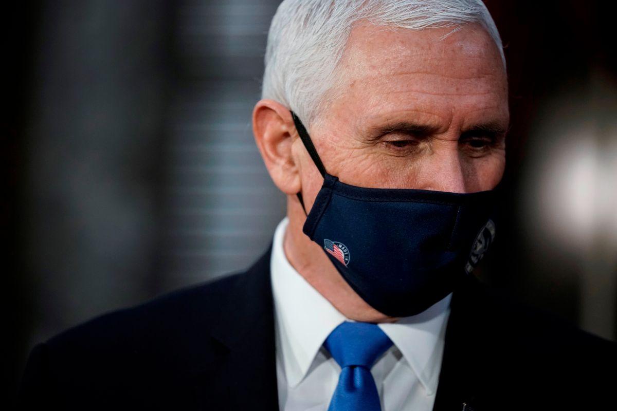 Pence rechaza presión de Trump y descarta oponerse al triunfo de Biden