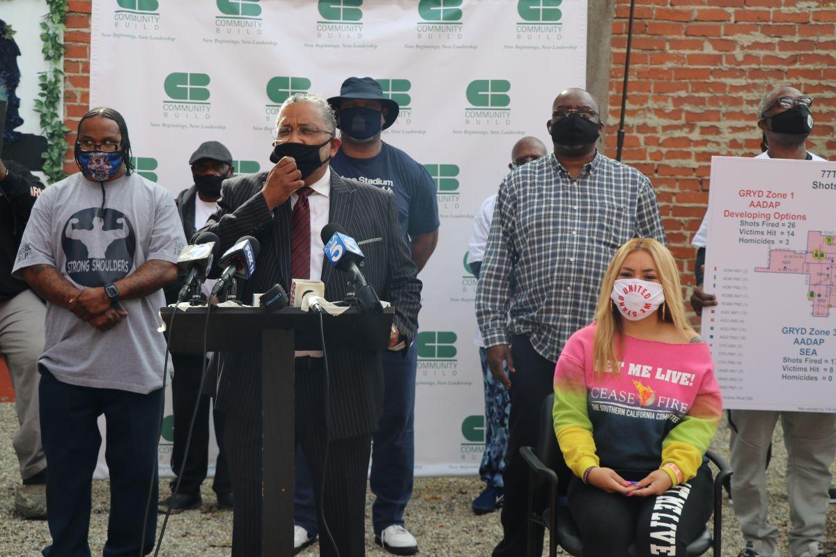 'Paren de matar', dicen familias y líderes del Sur de LA