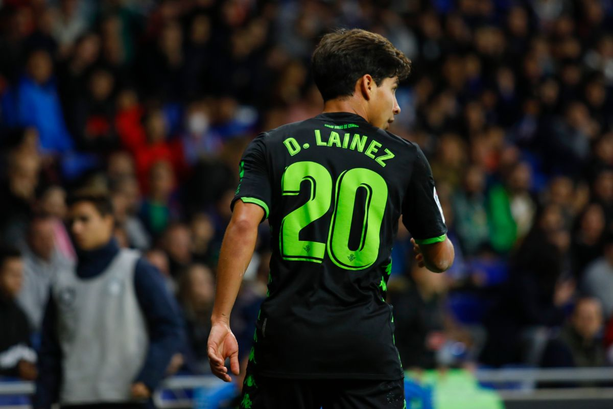 Lainez se llevó todos los elogios por su actuación en el Derbi de Sevilla.