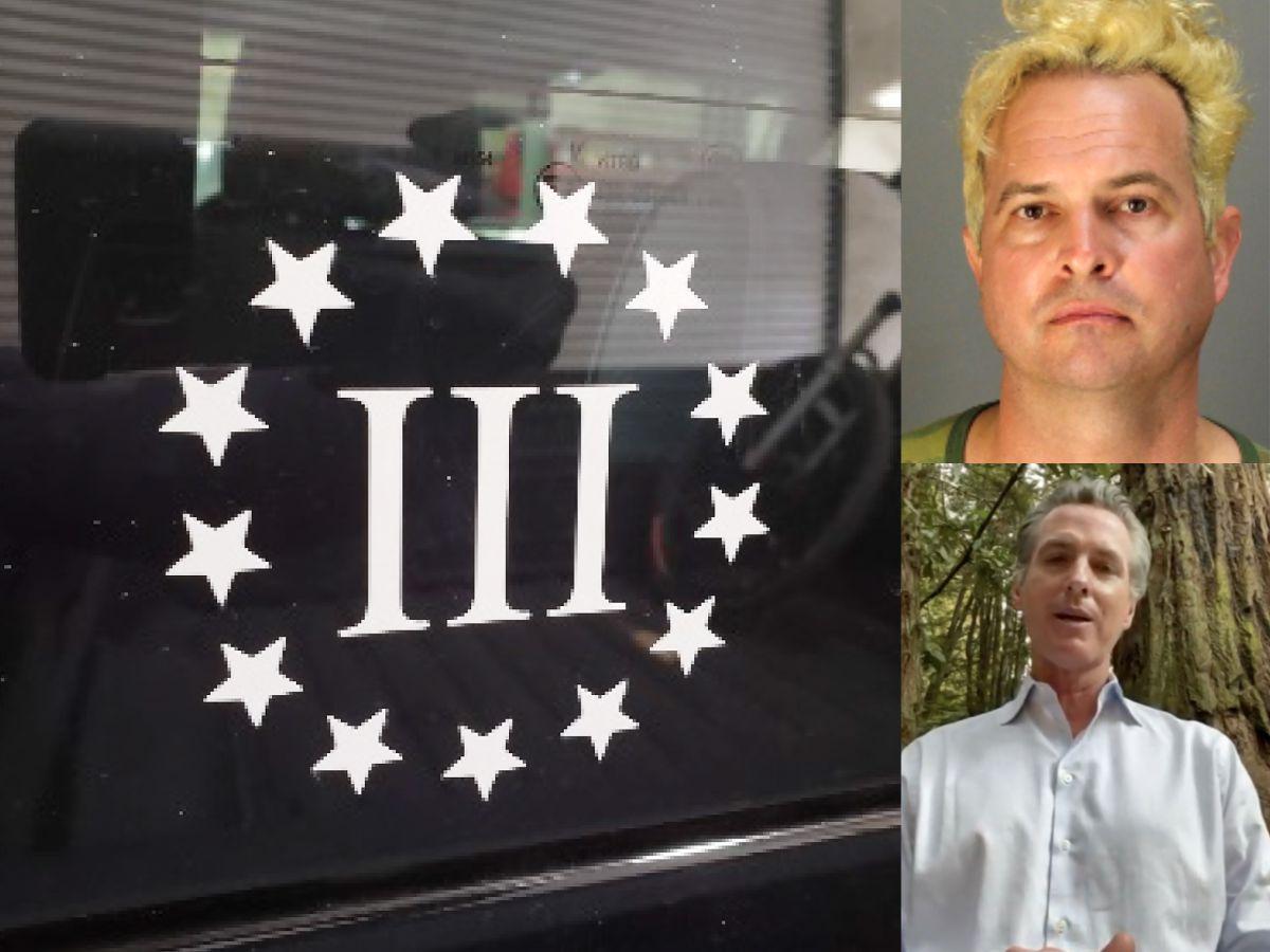 Seguidor de Trump arrestado con explosivos podría haber planeado ataque al gobernador Newsom, según FBI