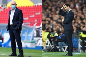 """Duelo de altura: Santiago Solari vs. """"Vasco"""" Aguirre"""