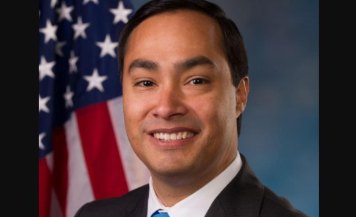 El congresista demócrata de Texas, Joaquín Castro.