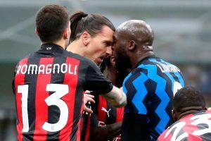 Luego de su tremendo agarrón: solo un partido de castigo para Zlatan Ibrahimovic y Romelu Lukaku