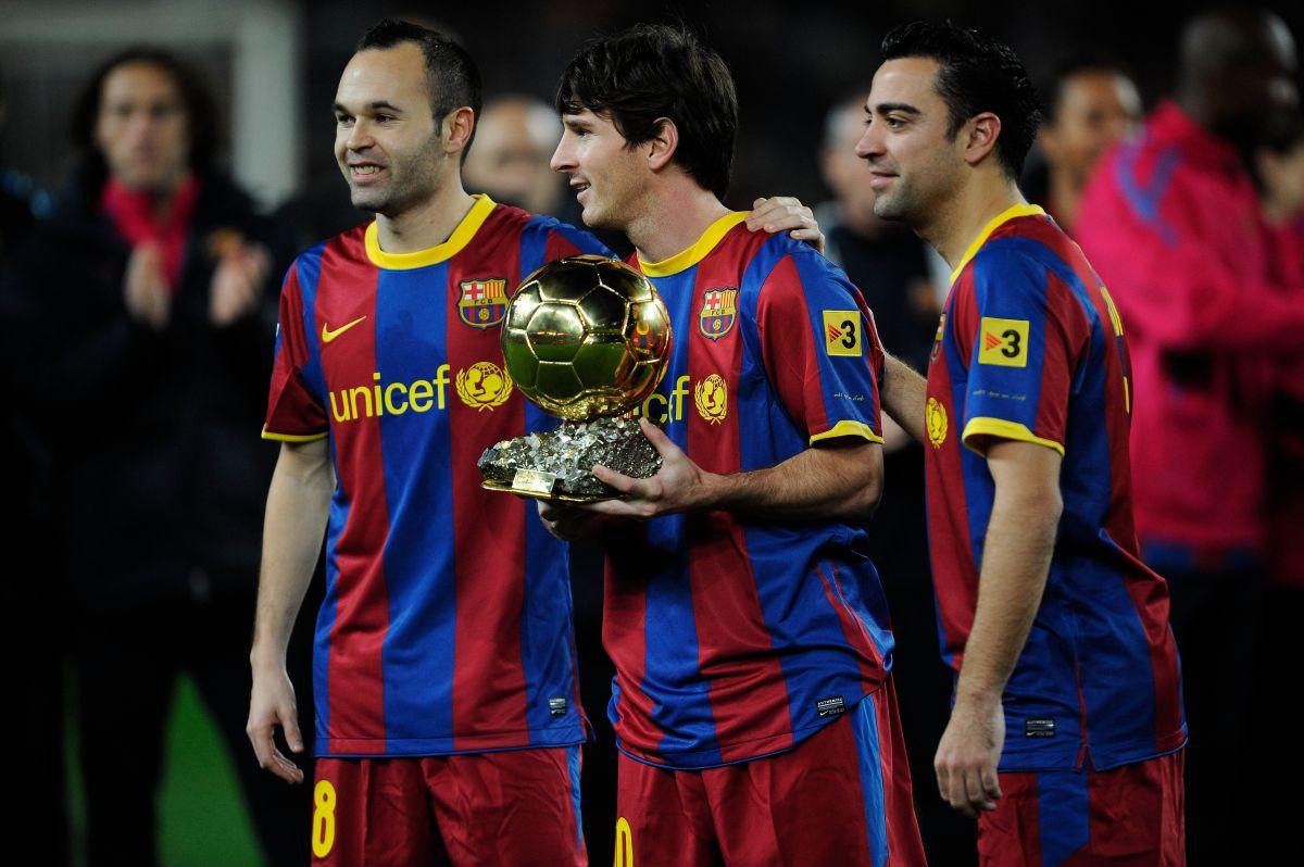 Los tres jugadores del Barça nominados a l mejor del mundo.