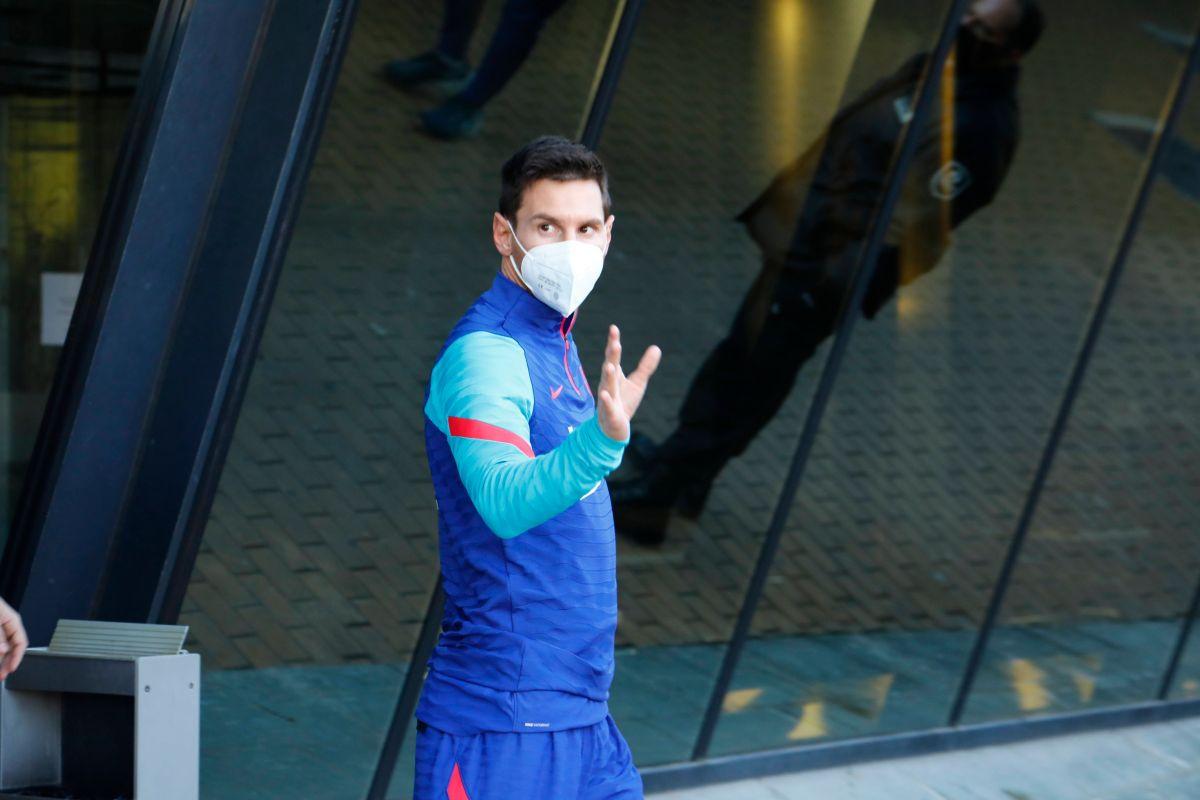 Esta es la prueba de  que Leo Messi es el líder del Barcelona juegue o no juegue