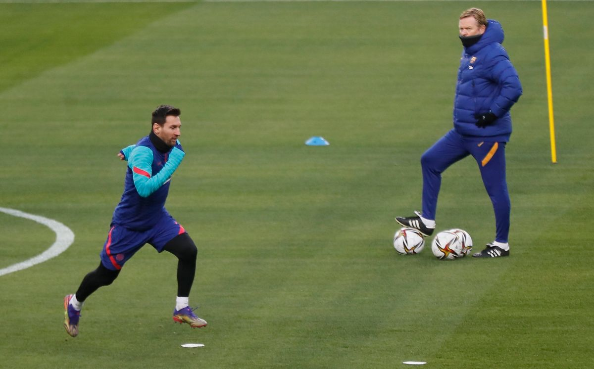 Se disiparon las dudas: Leo Messi será titular en la final de la Supercopa
