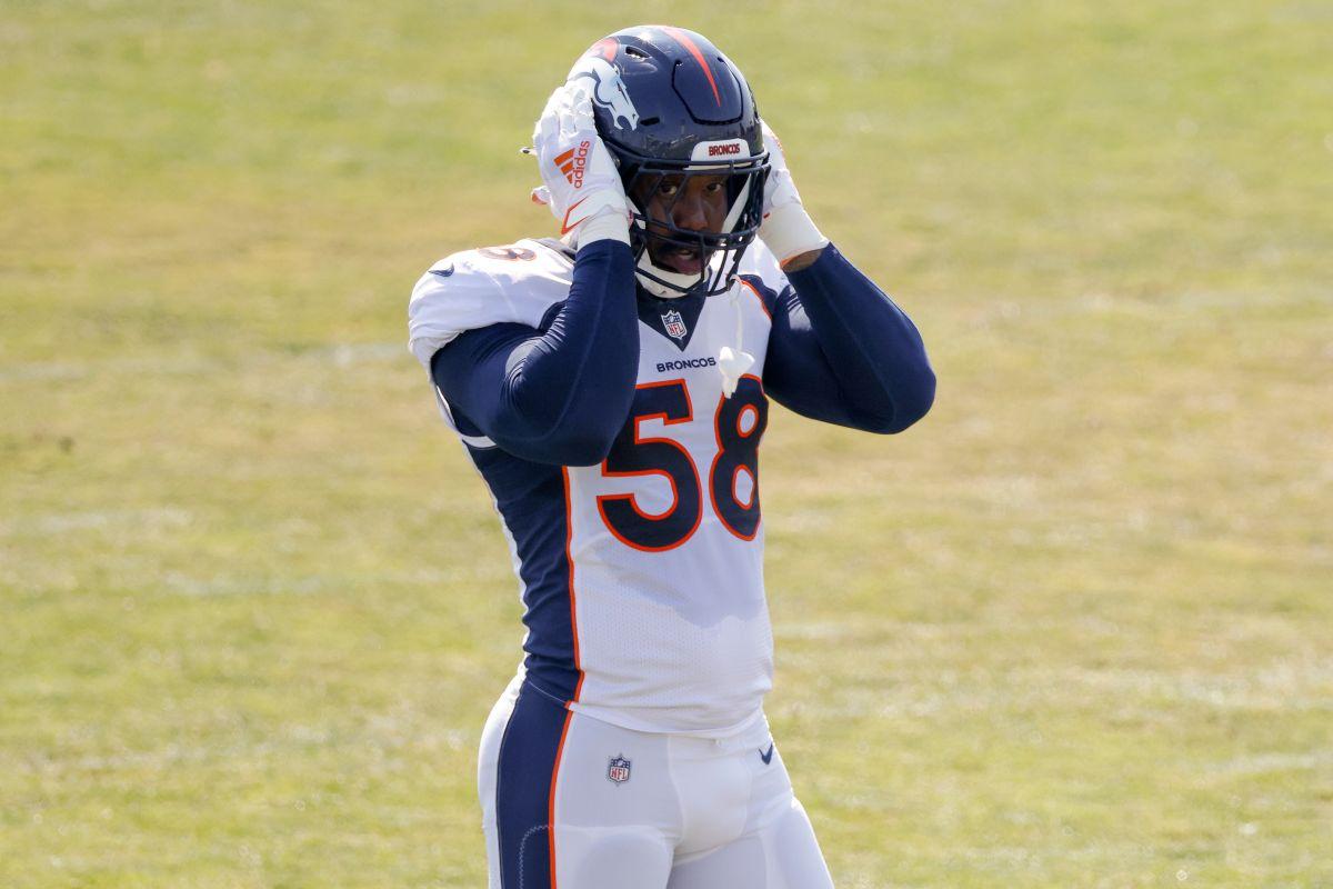 Otro escándalo en la NFL: investigan a Von Miller, jugador de los Broncos, por un supuesto acto criminal