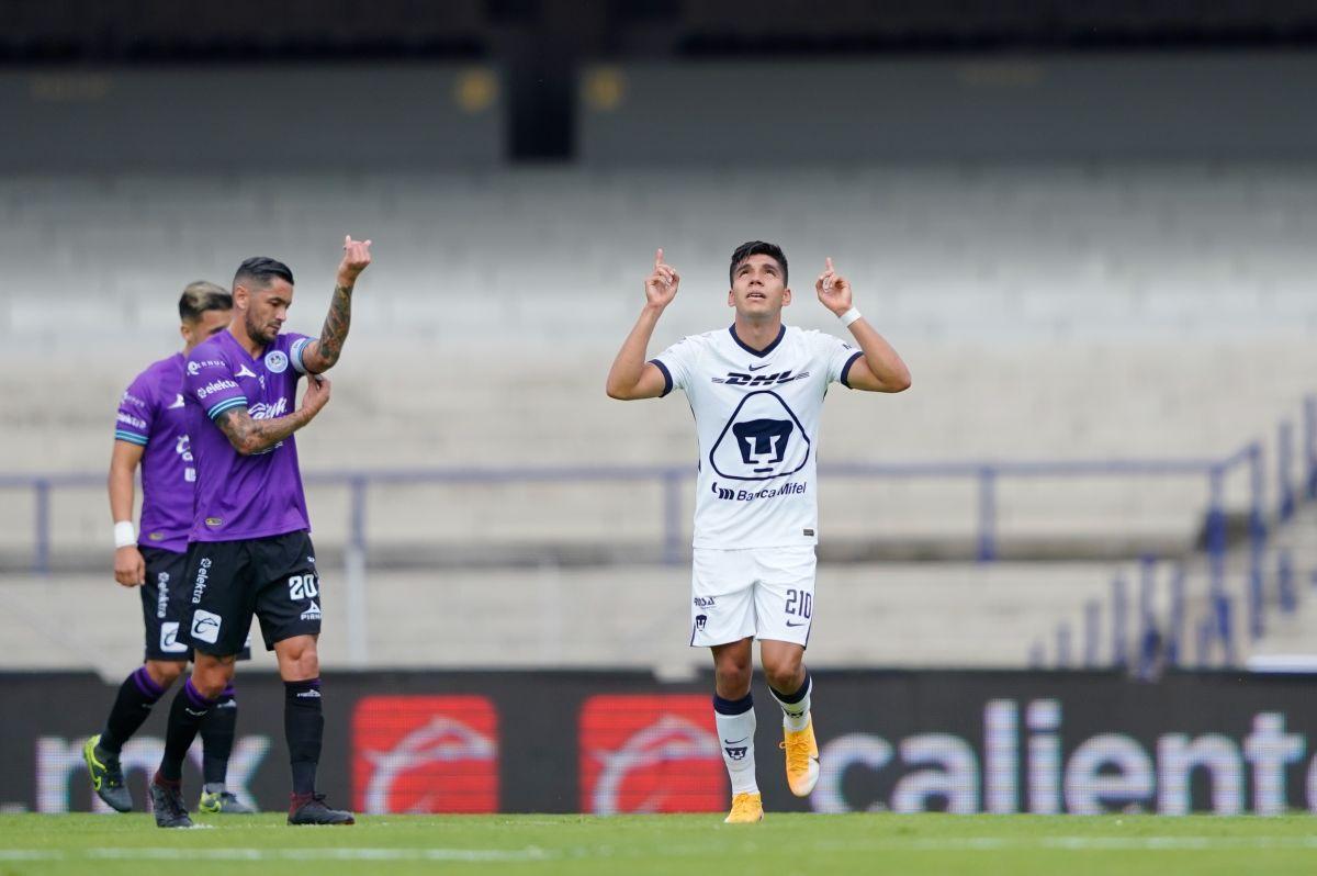Los Pumas le pasaron por encima al Mazatlán y consiguieron su primer triunfo del 2021