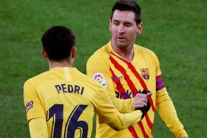 VIDEO: ¡Cómo se entienden! Otro golazo marca registrada con la conexión Pedri - Messi