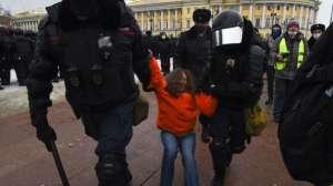 Alexei Navalny: más de 2,000 detenidos en las protestas en Rusia por la detención del prominente opositor a Putin