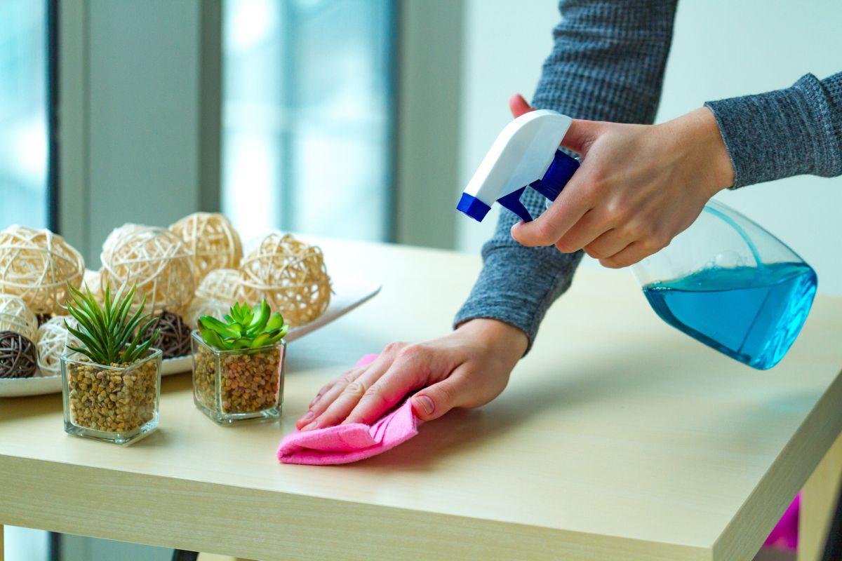 Los mejores productos de limpieza y desinfectantes para llevar contigo si te quedas en un hotel o en un airbnb