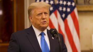 5 destacadas frases de Trump en su discurso de despedida de la presidencia