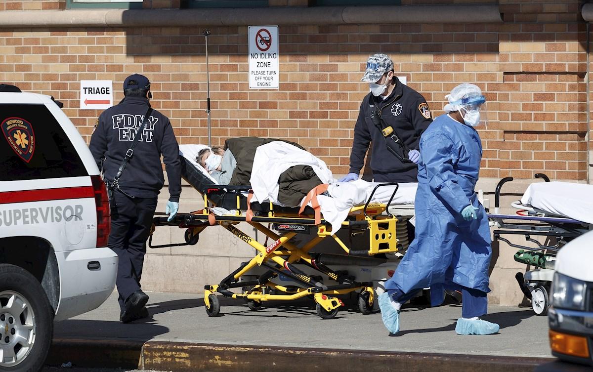Estados Unidos supera los 485 mil fallecidos por COVID-19