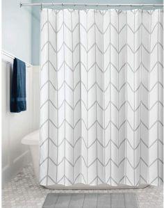 cortinas para baño de tela moderna