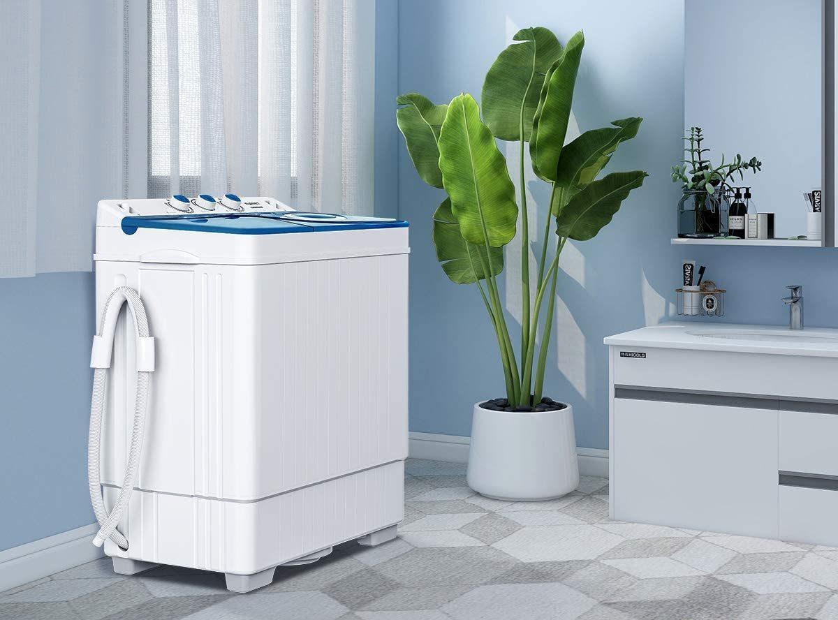 Las 5 mejores lavadoras y secadoras portátiles para hogares con poco espacio