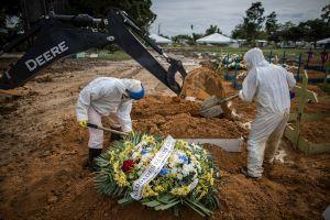 COVID-19 deja más de 2 millones y medio de muertos en el mundo