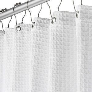 cortinas para baño de tela