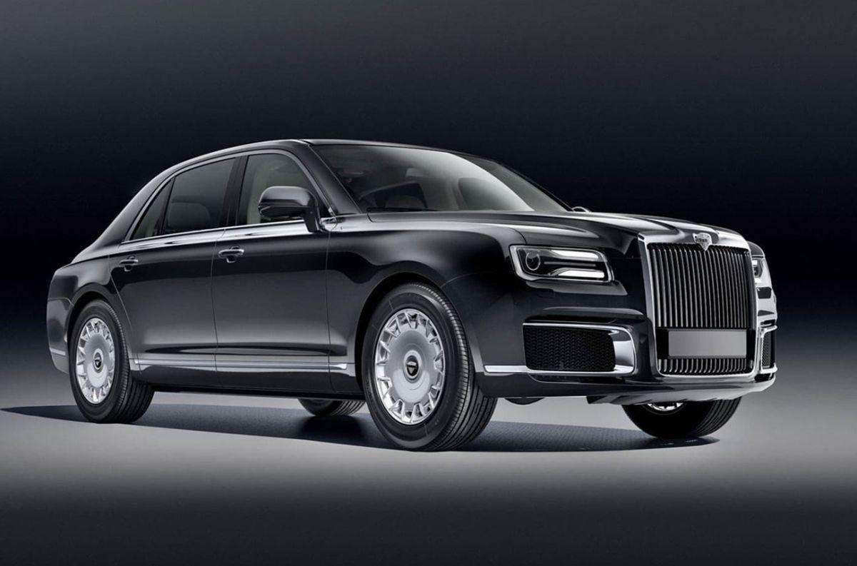 Descubre al auto de lujo ruso que va por Rolls-Royce