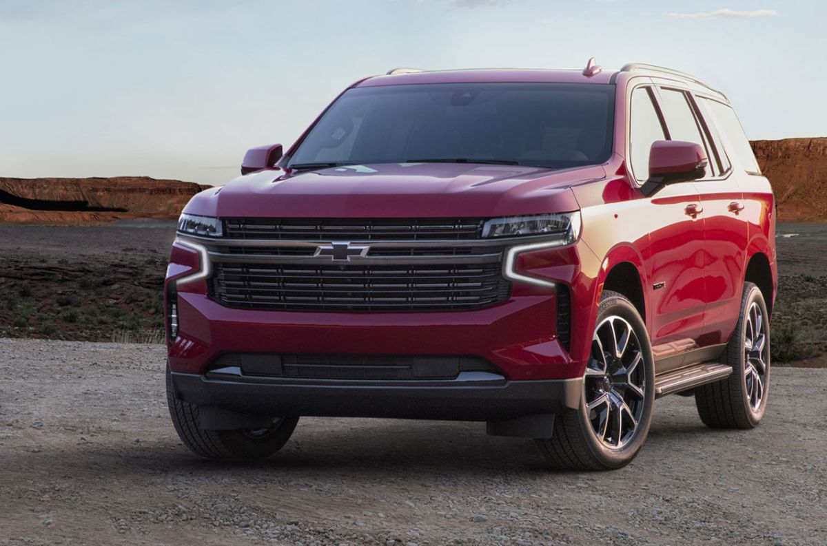 Test: Chevrolet Tahoe RST 2021