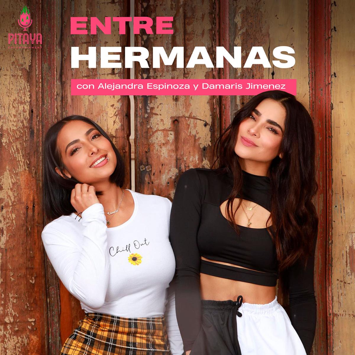 Alejandra Espinoza y su hermana Damaris Jiménez
