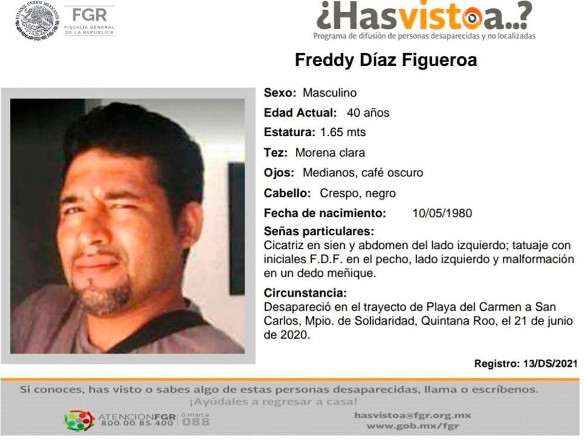Desaparece el hermano del principal buscador de migrantes en México