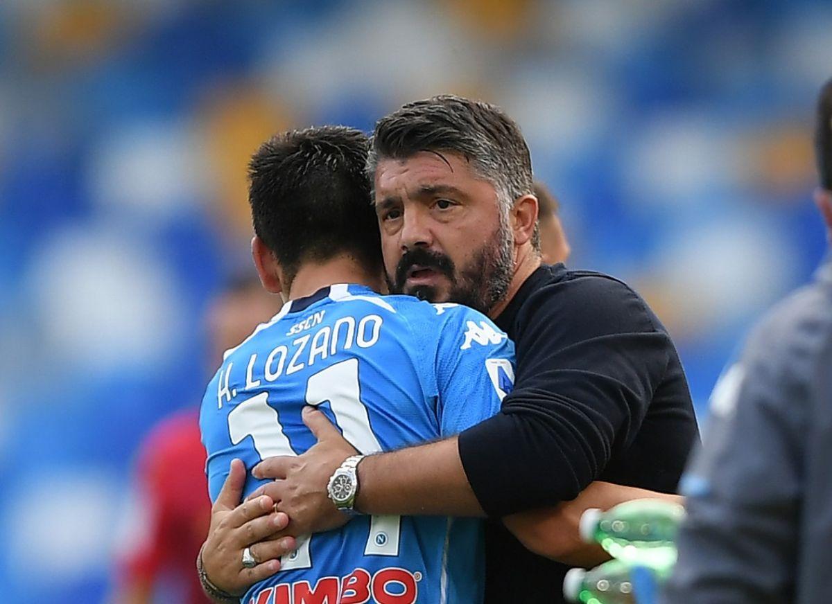 Chucky Lozano y el Napoli cada vez más cerca de la próxima Champions