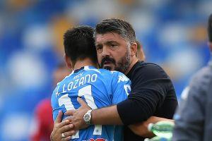 """'Chucky' Lozano no jugará la Europa League y Gattuso advierte: """"No podemos llorar por nuestras bajas"""""""