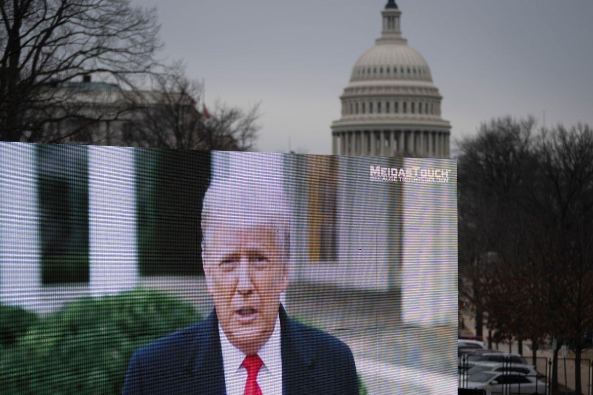 Trump quiere volver a presentarse a la presidencia en 2024.