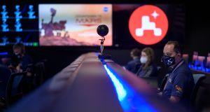 VIDEO: La NASA retransmite en directo el aterrizaje en Marte del rover Perseverance