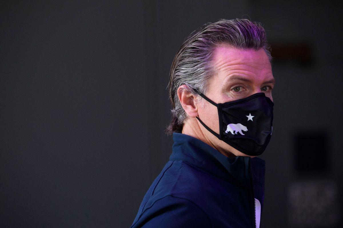 El gobernador de California Gavin Newsom enfrentará una elección que busca destituirlo del cargo. (Getty Images)