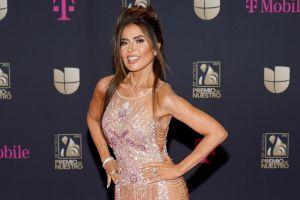Gloria Trevi acapara las miradas con su deslumbrante vestido ajustado durante Premio Lo Nuestro